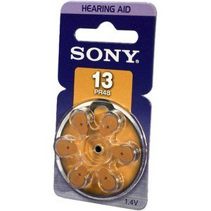 Sony Color Print Pack (SONY #13 Hearing Aid Batteries Fresh Exp. 2015 pack 120 pcs)