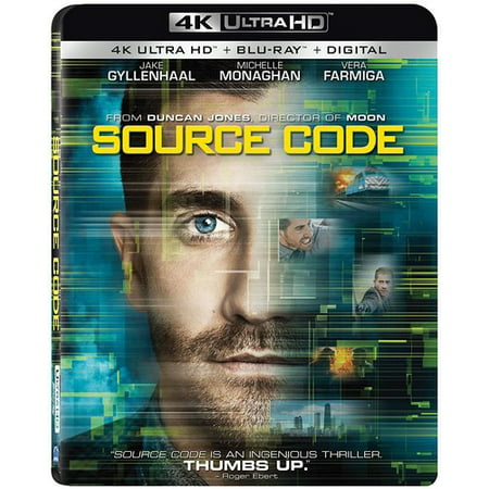 Source Code (4K Ultra HD + Blu-ray + Digital HD) (Source Code Dvd)