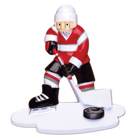 Sport Hockey Player Personalized Christmas Ornament DO-IT-YOURSELF