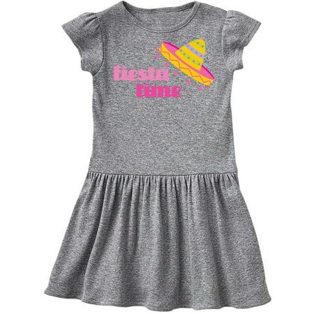 Fiesta Pink Sombrero Toddler Dress (Toddler Sombrero)