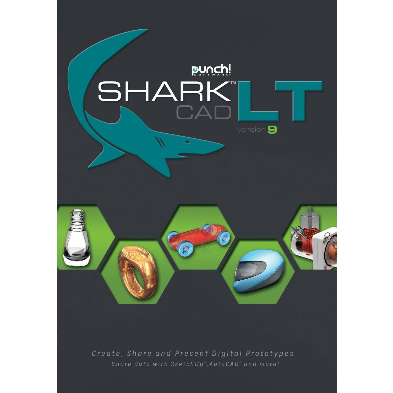 WD Encore 8122542 PunchCAD Shark LT V9 for PC (Email Delivery)
