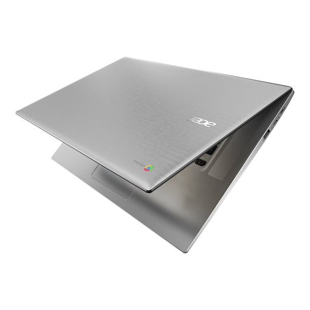 "Acer Chromebook 315 CB315-2H-25TX 15.6"" Chromebook - 1366 x 768 - A-Series A4-9120C - 4 GB RAM - 32 GB Flash Memory - Pure Silver - Chrome OS - AMD Radeon R4 Graphics - ComfyView - English (US)"