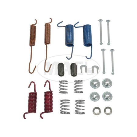 (MACs Auto Parts  48-42324 Ford Pickup Truck Rear Brake Hardware Kit - For 1 Axle - F100)