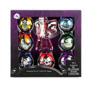 Disney The Nightmare Before Christmas Ornament Set and Tree Topper New with Box