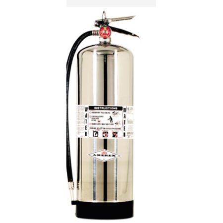 Amerex 2.5 GAL. Water Fire Extinguisher  With (SCHRADER)