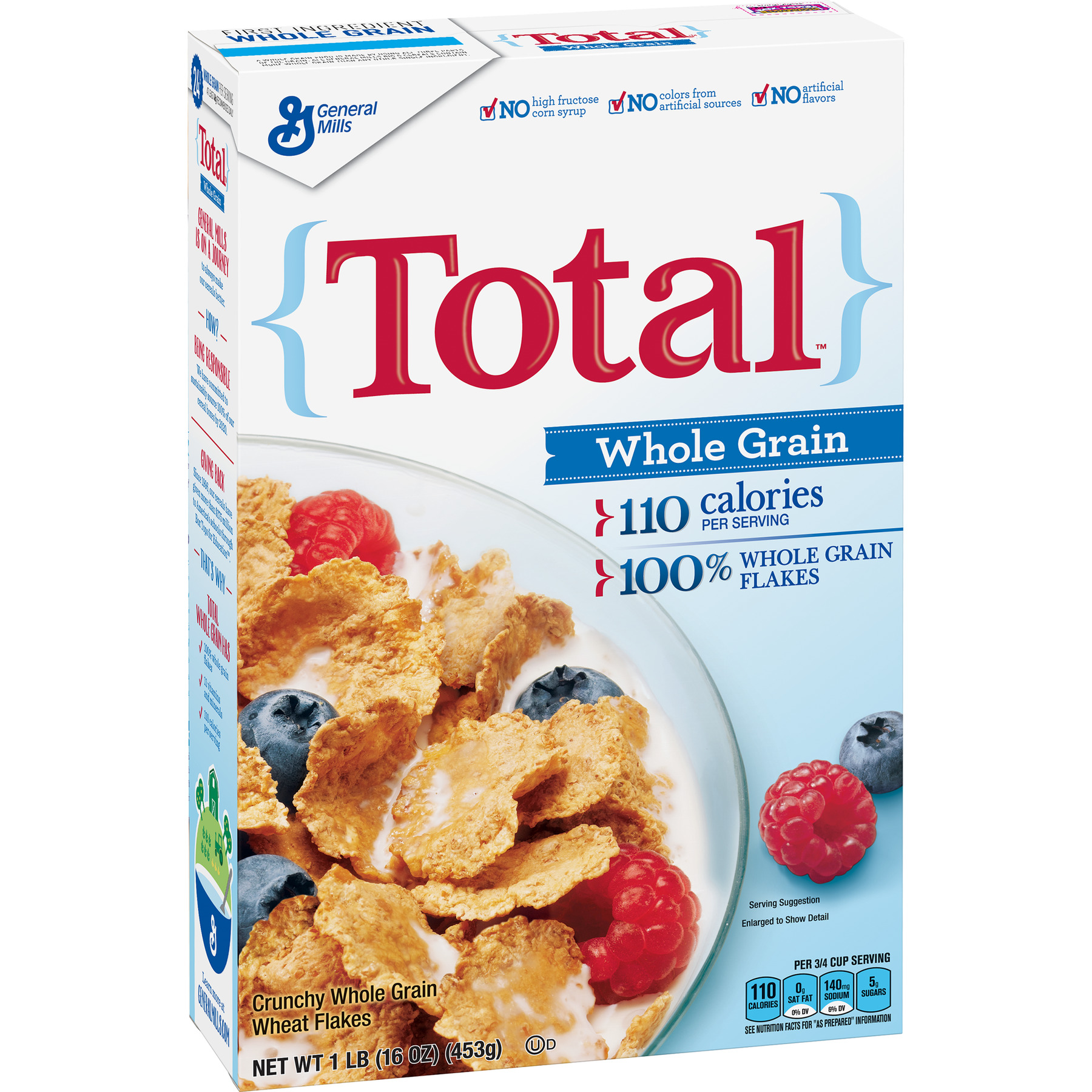 Total Whole Grain Breakfast Cereal, 16 oz