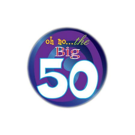 The Big 50! Birthday Button](Big Birthday Pins)