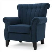35 In Club Chair In Dark Blue