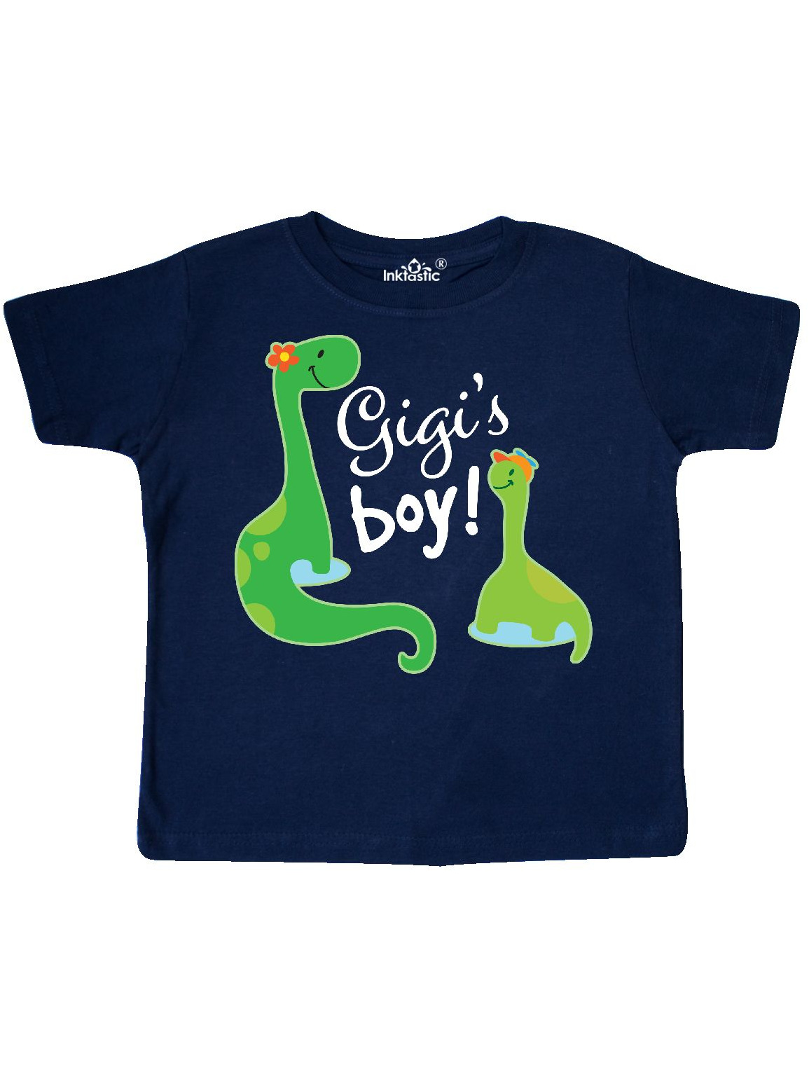 Gigi Boy Grandson Gift Dinosaur Toddler T-Shirt