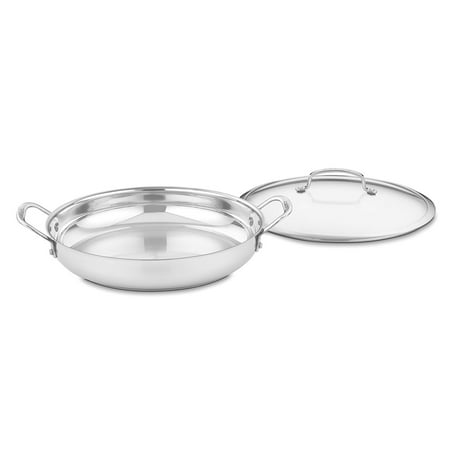 Cuisinart Contour Stainless Steel 12 inch Everyday Pan - 425-30D