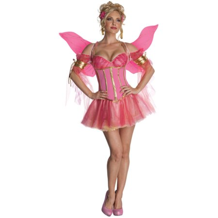 Women's Adult Enchanted Fairy  Pink Butterfly or Pixie - Adults Fairy Costumes