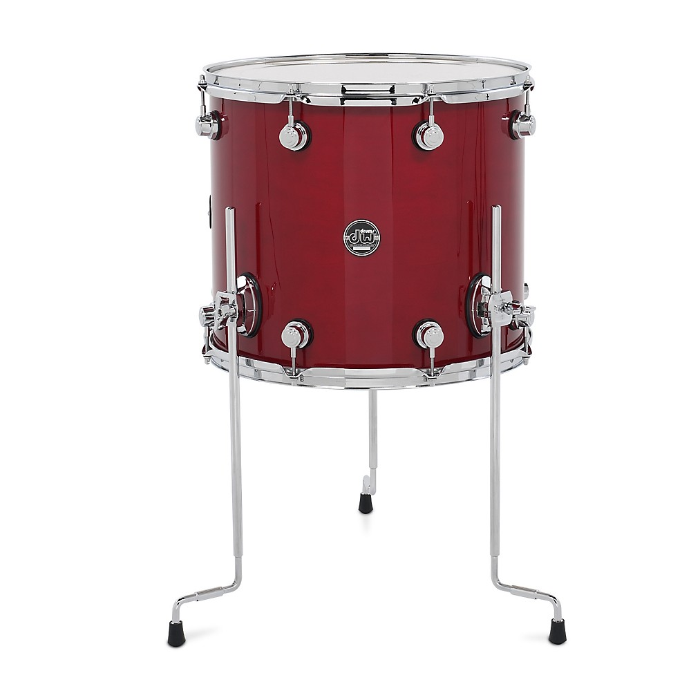 DW Performance Series Floor Tom Candy Apple Lacquer 16 x 14 in. by DW