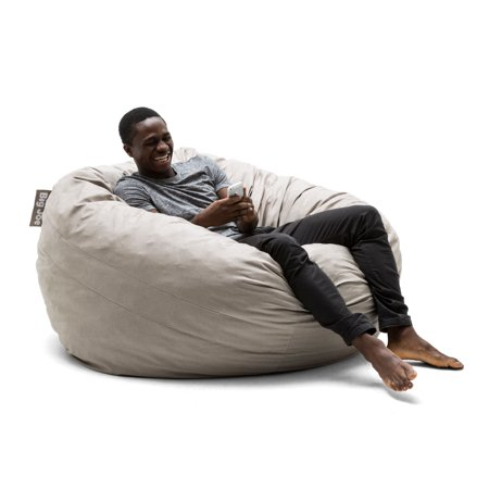 Astounding Big Joe King 5 Fuf Bean Bag Chair Multiple Colors Fabrics Pabps2019 Chair Design Images Pabps2019Com