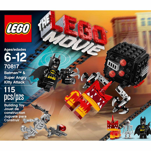 LEGO Movie Batman and Super Angry Kitty Attack