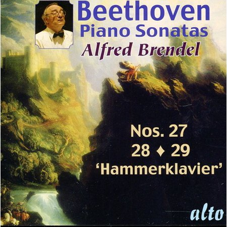 Beethoven / Brendel  - Piano Sonatas 27-28-29 (CD) - image 1 of 1