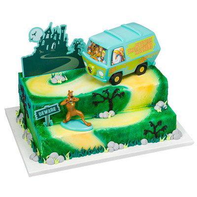 ScoobyDoo Mystery Machine Signature Cake Decorating Kit Walmartcom