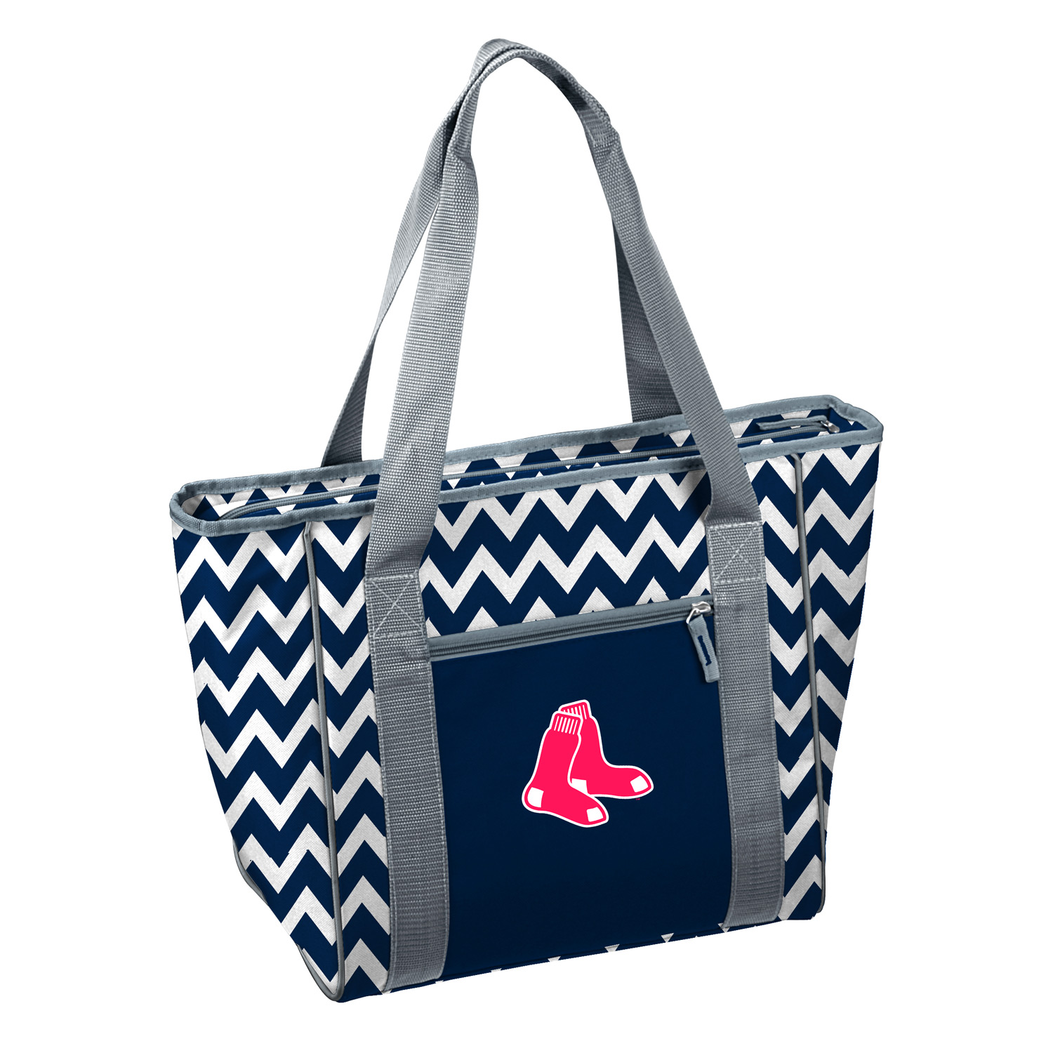 Boston Red Sox Official MLB Chevron 30 Can Insulated Cooler Tote by Logo 019510