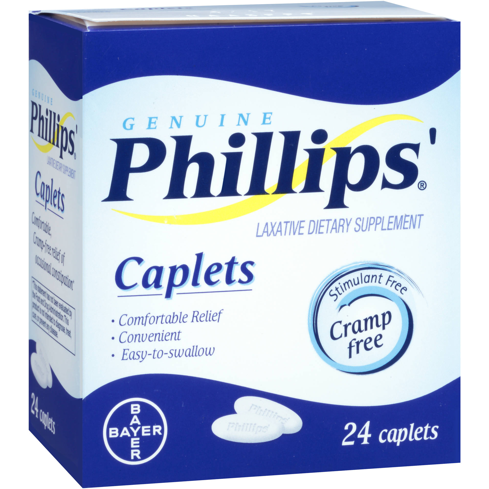 Phillips' Genuine Laxative Dietary Supplement, 24 count