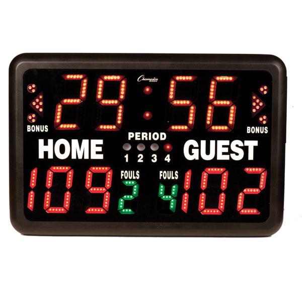 Hoopescore Electronic Basketball Scoreboard Model JH1000