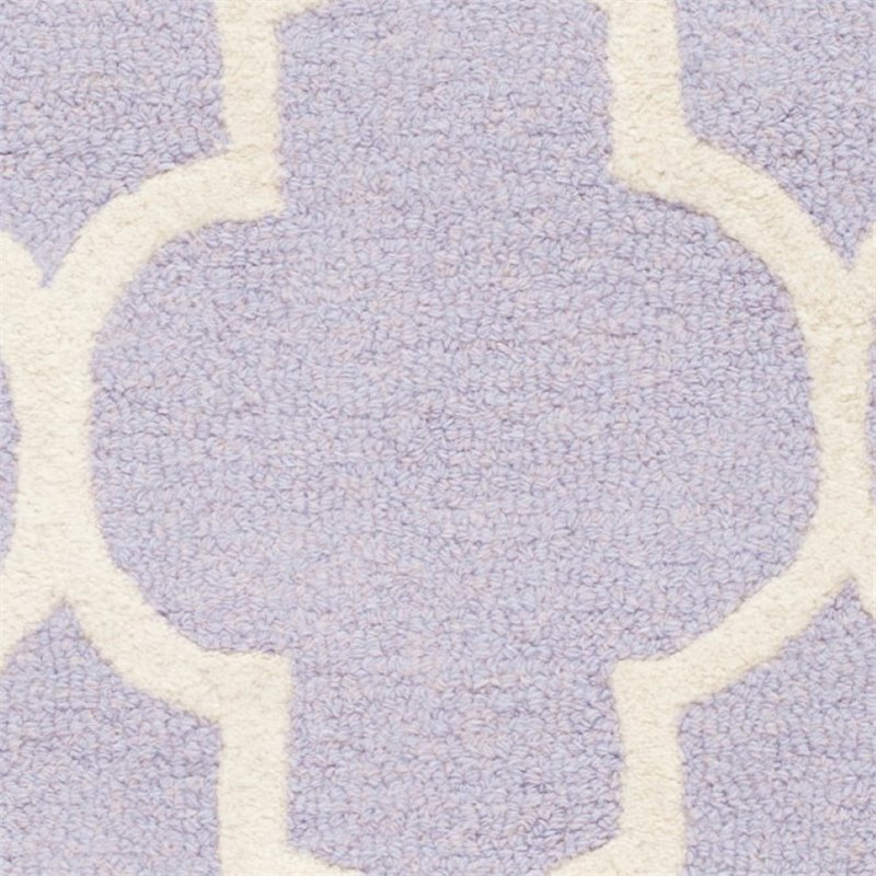 "Safavieh Cambridge 2'6"" X 12' Hand Tufted Wool Rug - image 6 of 10"