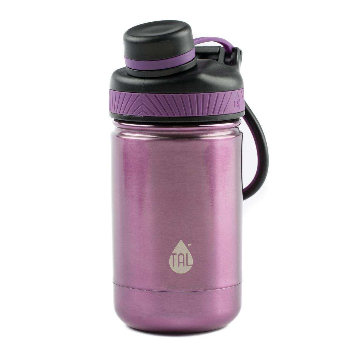 Tal Ranger Pro Stainless Steel 12 Ounce Double Wall Vacuum Insulated Purple Water Bottle, 1 Each