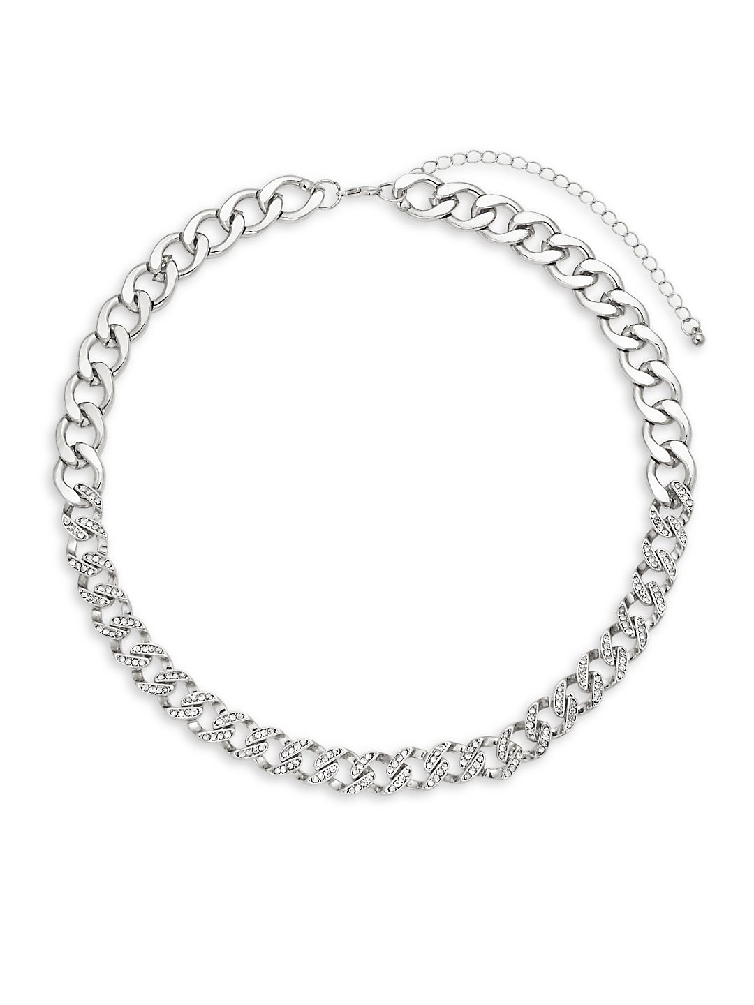 Chainlink Rhinestone Necklace