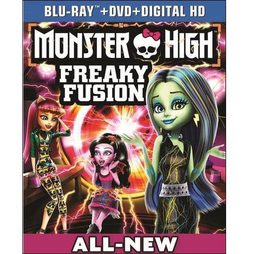 Monster High: Freaky Fusion (Blu-ray   DVD   Digital HD) (With INSTAWATCH)