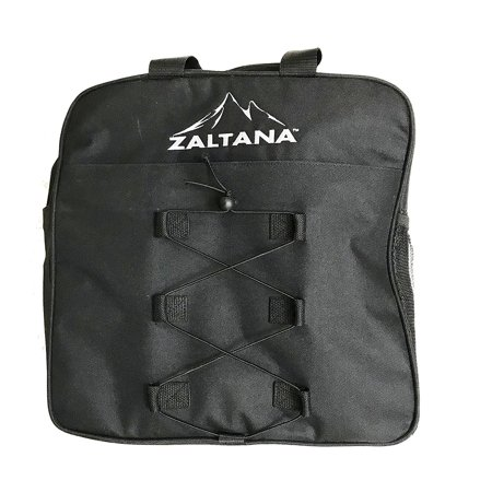 Zaltana SKB30 Padded Ski Boot bag backpack - Skiing and Snowboarding Travel Luggage, Black