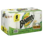 Bounty Paper Towels, Regular, 8 Roll count
