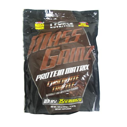 iForce Nutrition Mass Gainz Chocolate Truffle - 10 lbs (4.54kg)