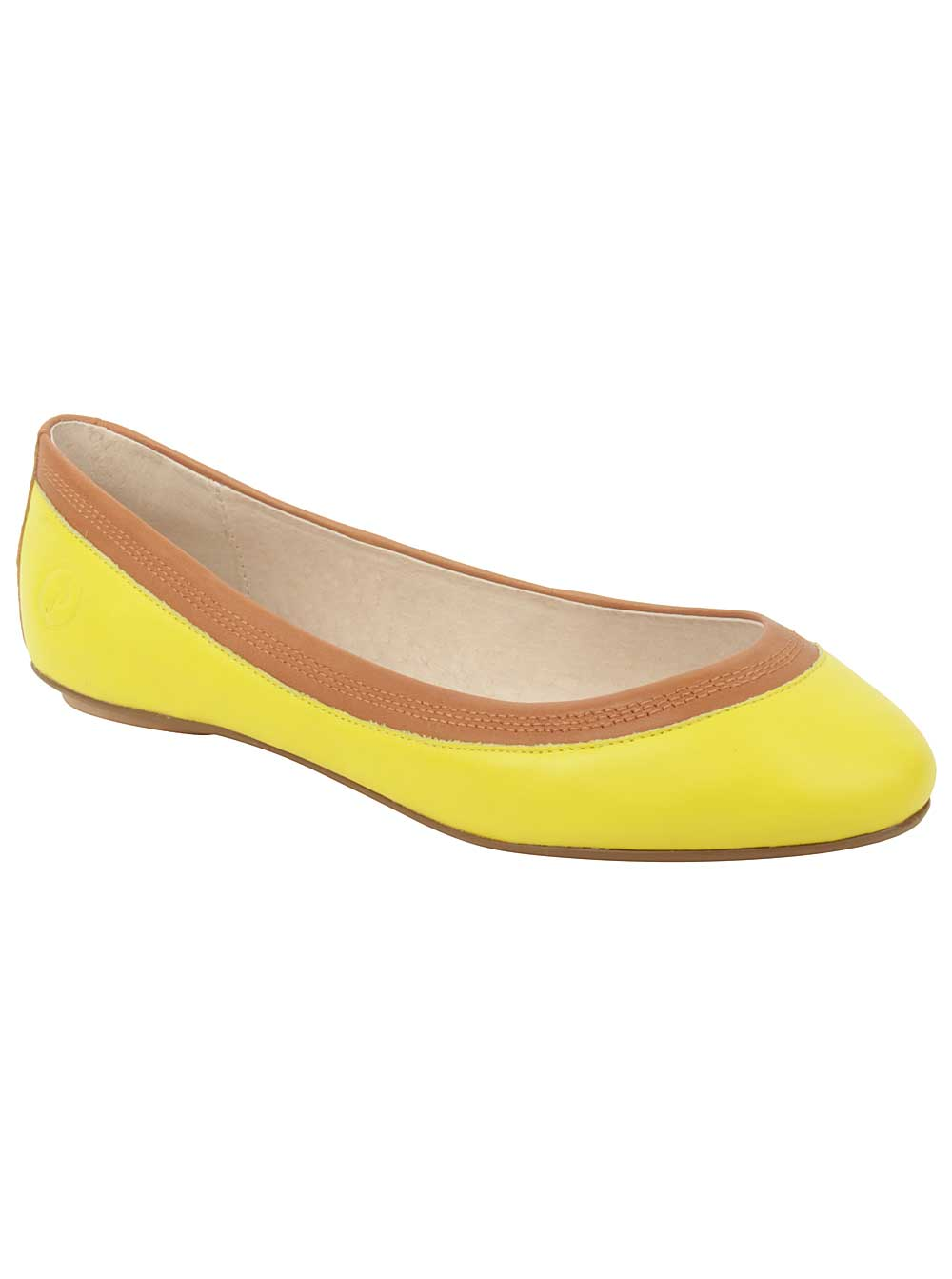 Bronx Women's Need a Break Flats in Lime by