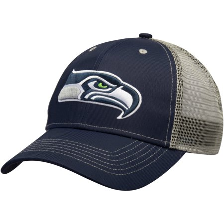 Men's College Navy Seattle Seahawks Explore Adjustable Hat - OSFA - Seattle Seahawks Gear