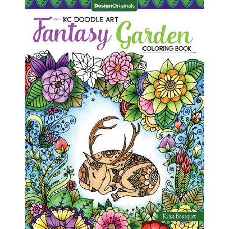 Doodle Garden - KC Doodle Art Fantasy Garden Coloring Book