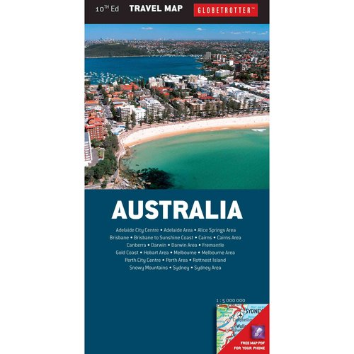 Globetrotter Travel Map Australia