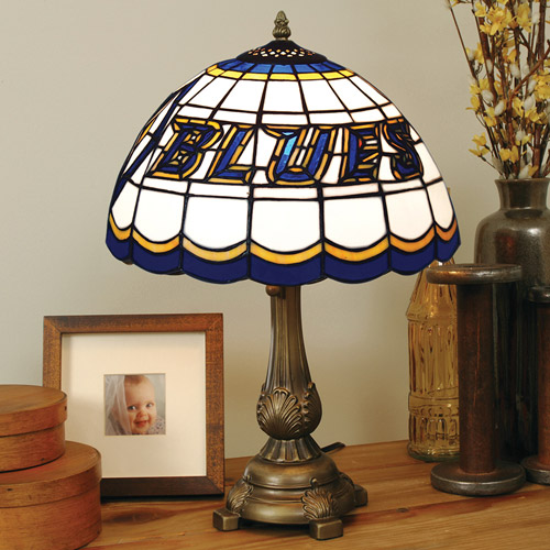 The Memory St Louis Blues Stained Glass Table Lamp