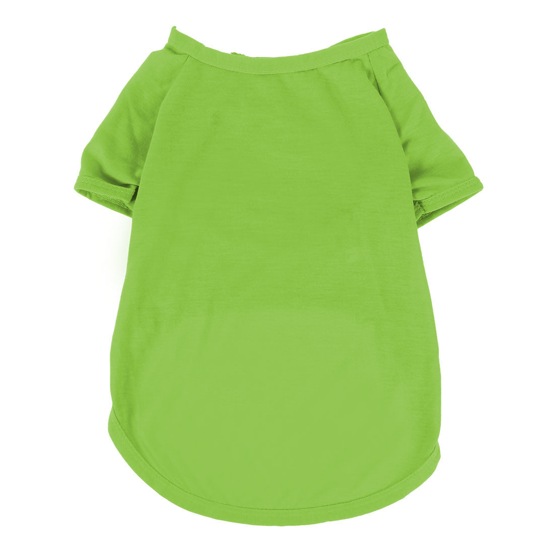Pet Dog Cotton Blend Summer Short Sleeve T-Shirt Vest Clothes Green Size XL - image 4 of 4