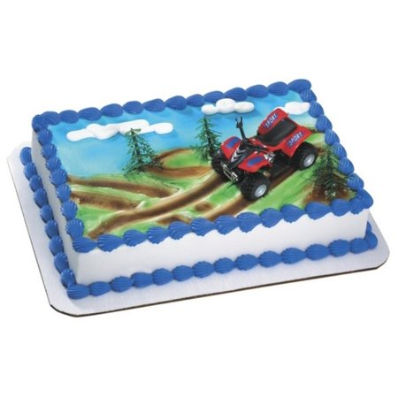 ATV 4 Wheeler Cake Topper Kit