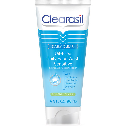 Clearasil Deep Cleanse Sensitive Formula Oil Free Face Wash - 6.5 Fl Oz