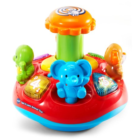 VTech® Twirl & Learn Animal Top™ - Top Educational Toys For 1 Year Olds