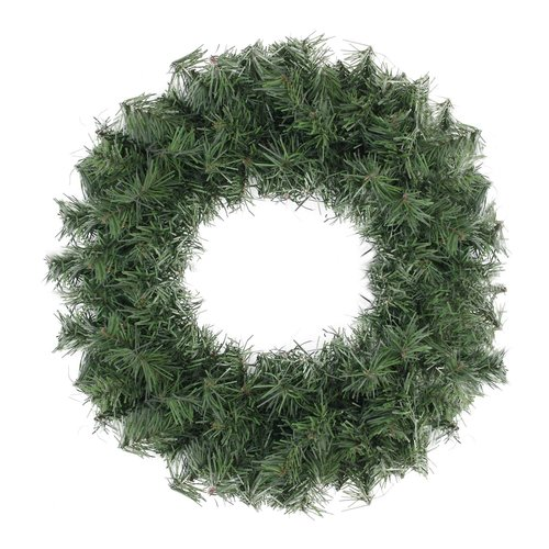 The Holiday Aisle Canadian 12'' Mini Pine Artificial Christmas Wreath with Unlit