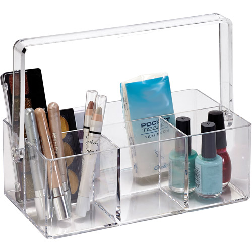 Simplify Cosmetic and Jewelry Holder with Carrying Handle