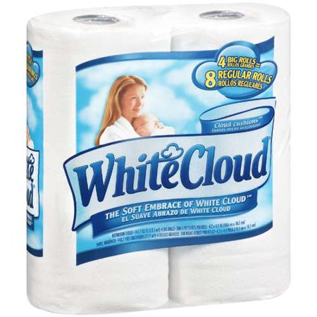white cloud bathroom tissue white cloud bathroom tissue 4 ct walmart 21511 | c513c6d8 f28b 4f50 9b7d c117e0be47e3 1.4b18be2a0e1390cf13664fa612e44a56