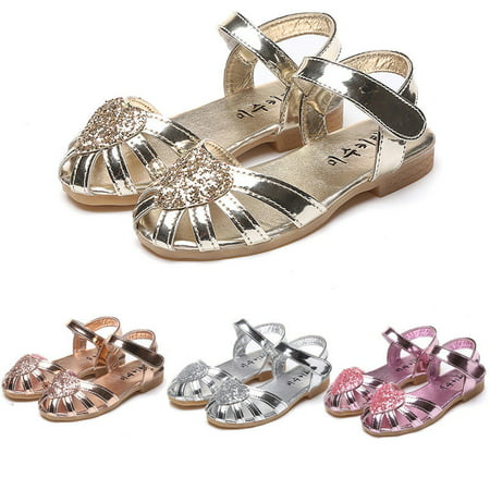 Newborn Kid Girl Leather Princess Sandals Soft Crib Shoes Toddler Prewalker Pre Walker Sandals