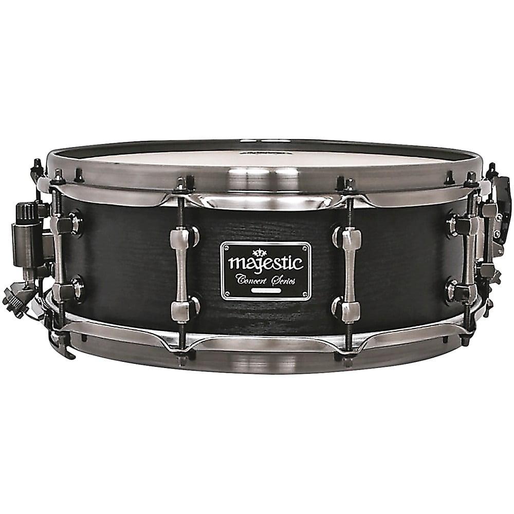 majestic concert black snare drum. Black Bedroom Furniture Sets. Home Design Ideas