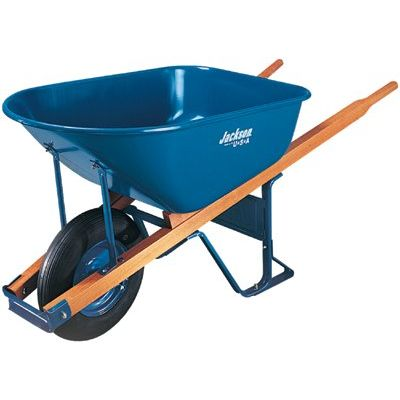 6Cu. Ft. Contractor Wheelbarrow