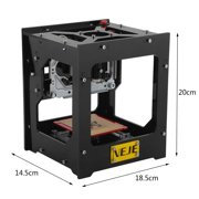 1000mw Laser Digilab Laser Engraver & Cutter USB Mini Laser Engraving Tool Machine Set for DIY Art&Craft