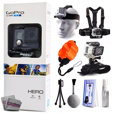 Gopro Hero Action Camera Chdha 301 With Headstrap   Chest Harness Mount   Wrist Glove Strap   Floaty Bobber   Mini Tripod   Cleaning Kit