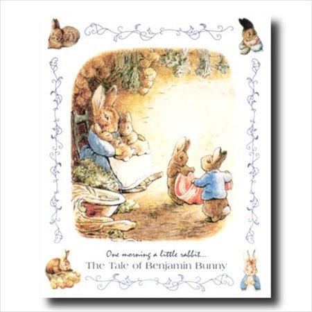 Benjamin Bunny Children Baby Room Wall Picture Art - Bunny Prints