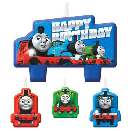 Thomas the Tank Engine 'All Aboard Friends' Mini Candle Set