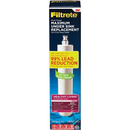 Filtrete Maximum Under-Sink Water Filtration Filter, - Oasis Water Filtration